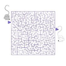Página para imprimir : Pareja de ratones