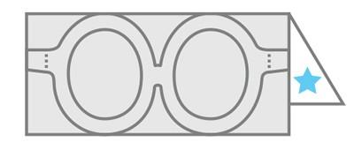 Arte de papel: Gafas y Corbatín de Peabody