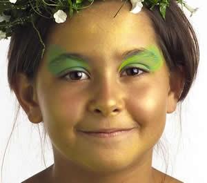 Maquillaje Elfo del Bosque