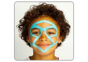 Maquillaje de un Robot