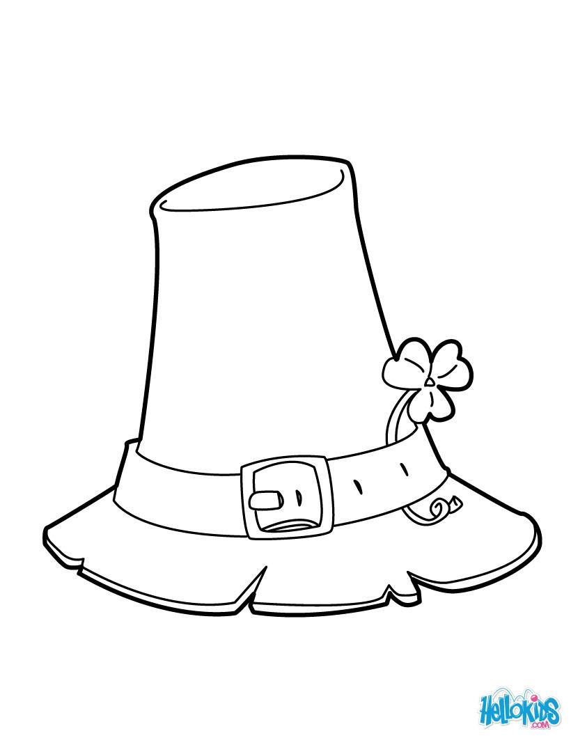 Dibujos para colorear leprechaun - es.hellokids.com