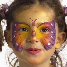 Carnaval con niños, Maquillajes de MARIPOSA para niñas