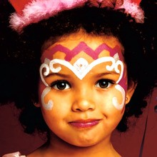 Maquillaje de Princesa rosa