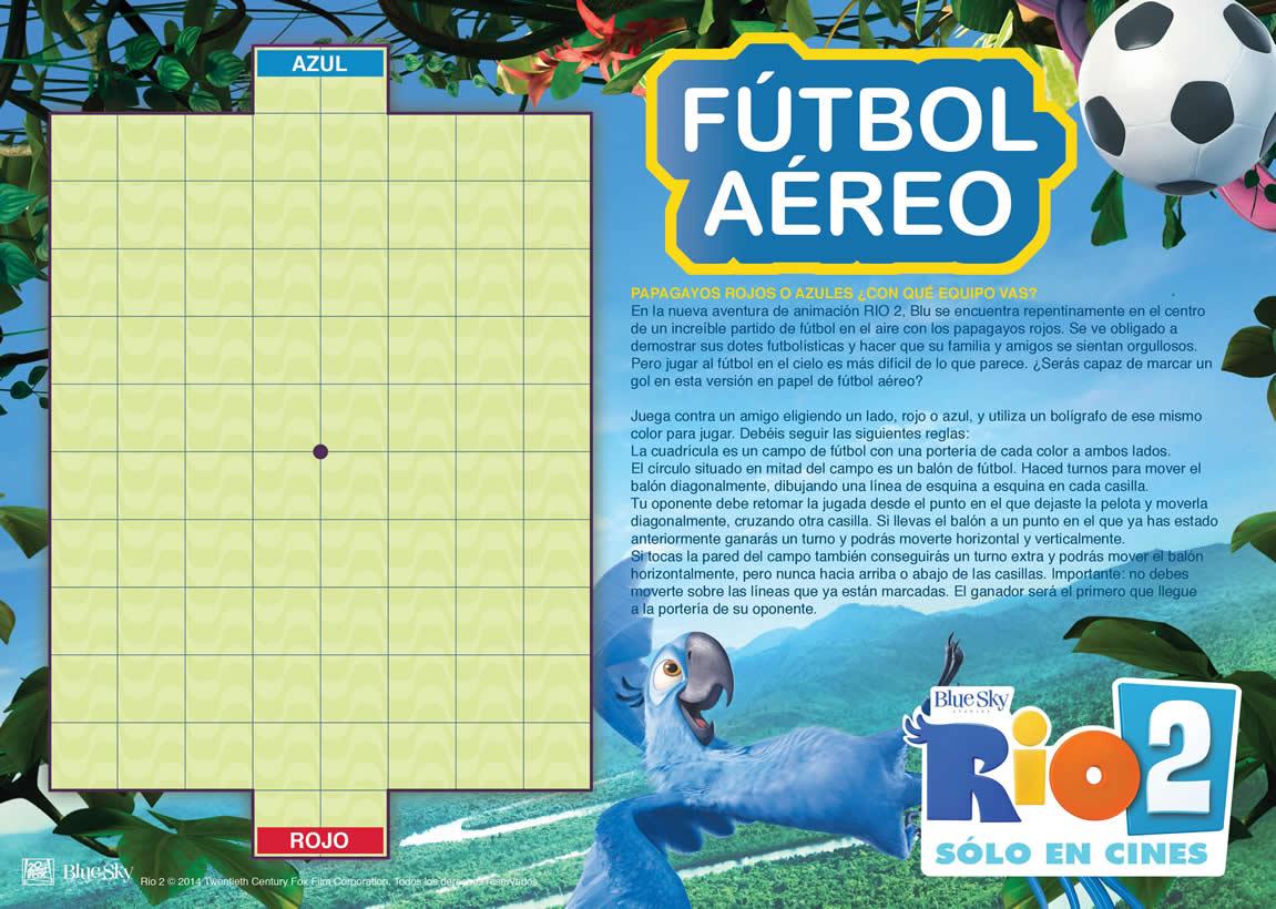 Juego online : Fútbol Aéreo