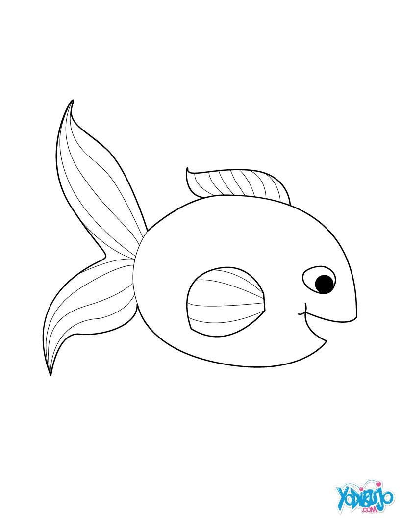 Pez : Dibujos para Colorear, Dibujo para Niños, Lecturas Infantiles ...