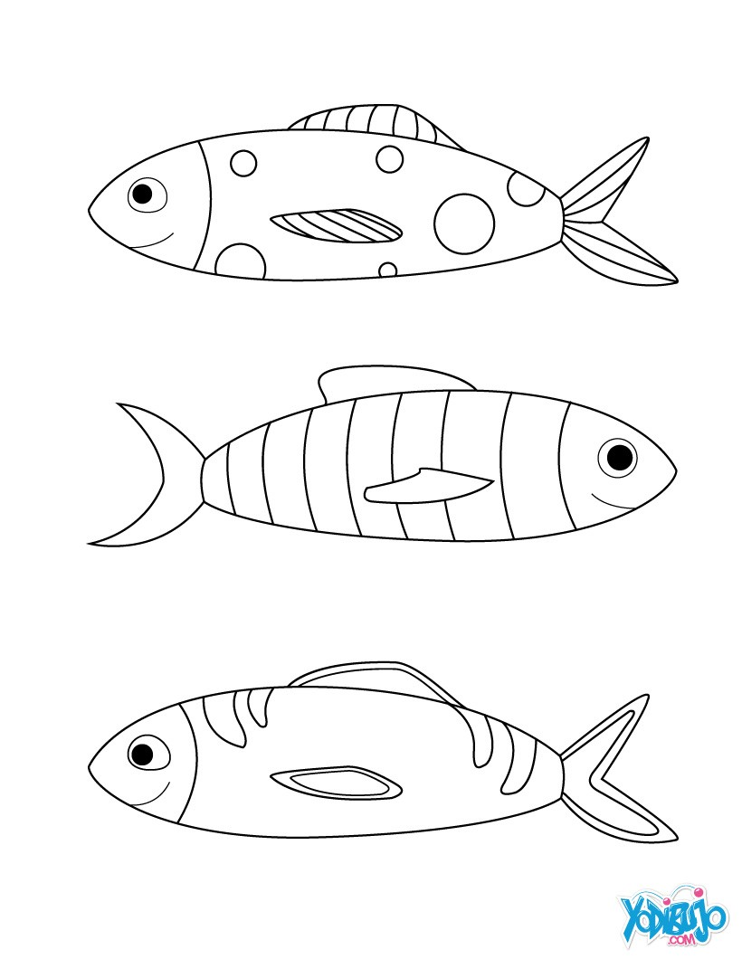 Dibujos para colorear peces para hacer bromas es - Coloriage tfou ...