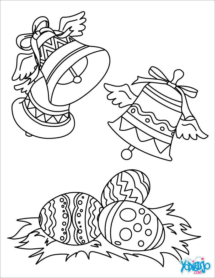 Dibujos para colorear PASCUA - imprimir 88 dibujos para pintar de Pascua