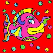 pez, Dibujos para colorear EL DÍA DE LAS BROMAS