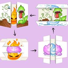 El mapa infinito de los cuatro elementos