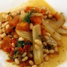 Cocinar con niños : Alubias con arroz e hinojo