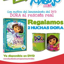 Concurso : DORA al Rescate Real DVD