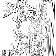 Dibujo para colorear : Apocalipsis Samurai