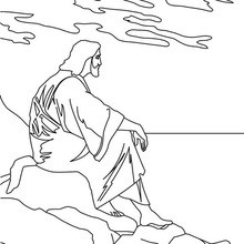 Dibujo para colorear : Jesús