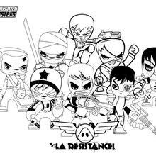 Dibujos De Mutant Busters Para Colorear 5 Dibujos Gratis Para