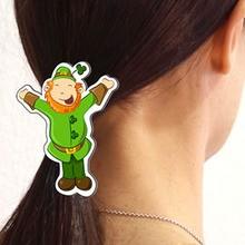 Manualidad infantil : Horquilla Leprechaun