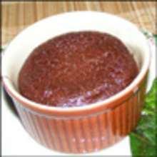 Cocinar con niños : Receta de chocolate fundido
