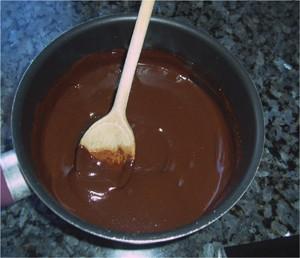 Cocinar con niños : Comida de Pascua y receta de chocolate fundido.