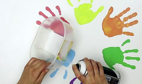 Manualidad infantil : Cesta casera para Huevos de Pascua