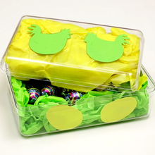 Manualidad infantil : Decorar una caja de chocolates