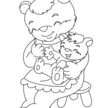 Mamá Oso y su bebé