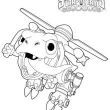 Dibujo para colorear : Chopper