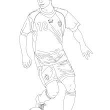 Dibujo para colorear : Eden Hazard