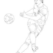 Dibujo para colorear : Frank Lampard