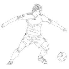 Dibujo para colorear : Mesut Özil
