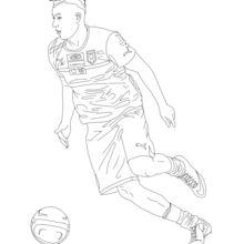 Dibujo para colorear : Stephan El Shaarawy