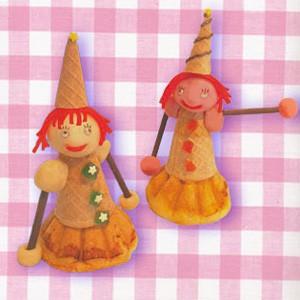 Cocinar con niños : Las hadas, bollos de cumpleaños