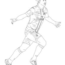 Dibujo para colorear : Zlatan Ibrahimovitch