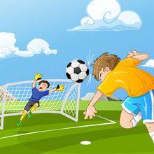 Puzzle en línea : Joueur de foot