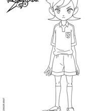 Dibujo para colorear : Aoyama