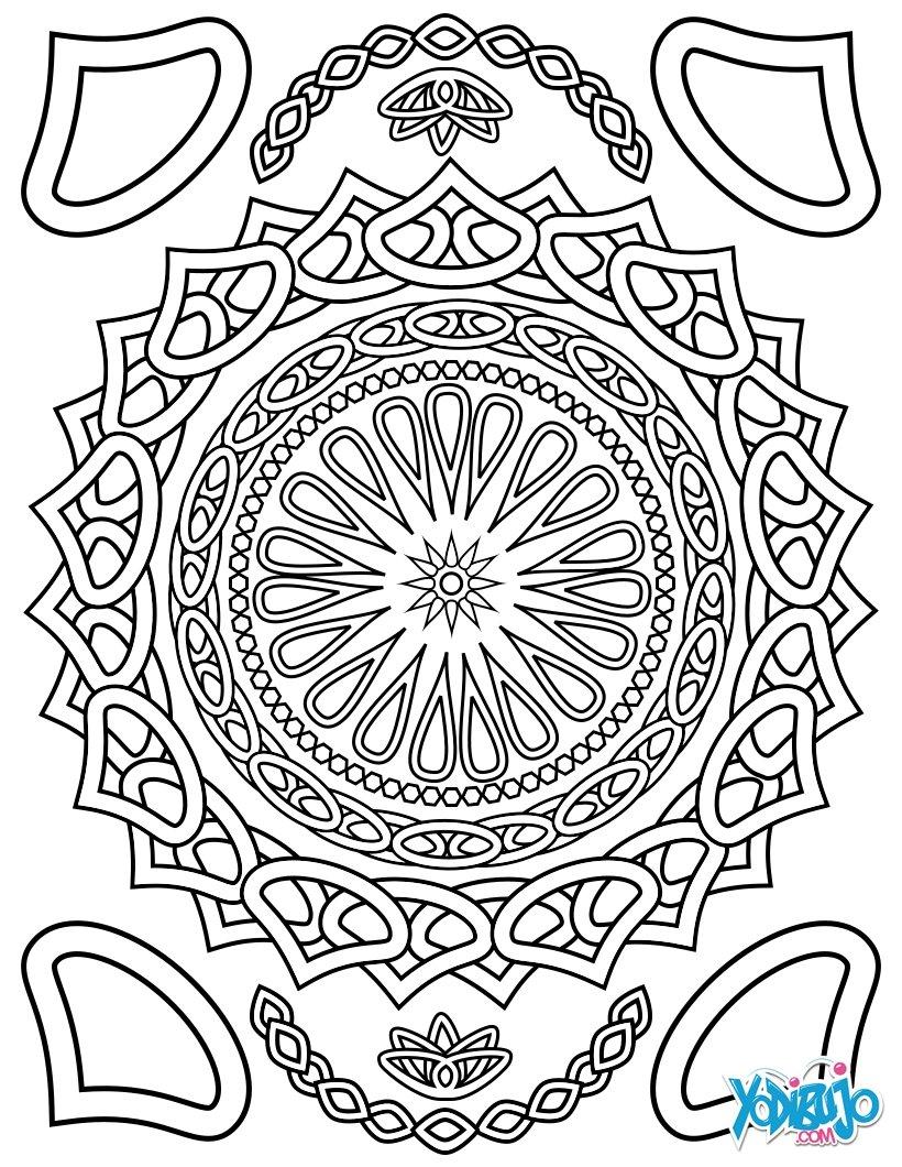 Dibujos para colorear colorear para relajarse - es.hellokids.com