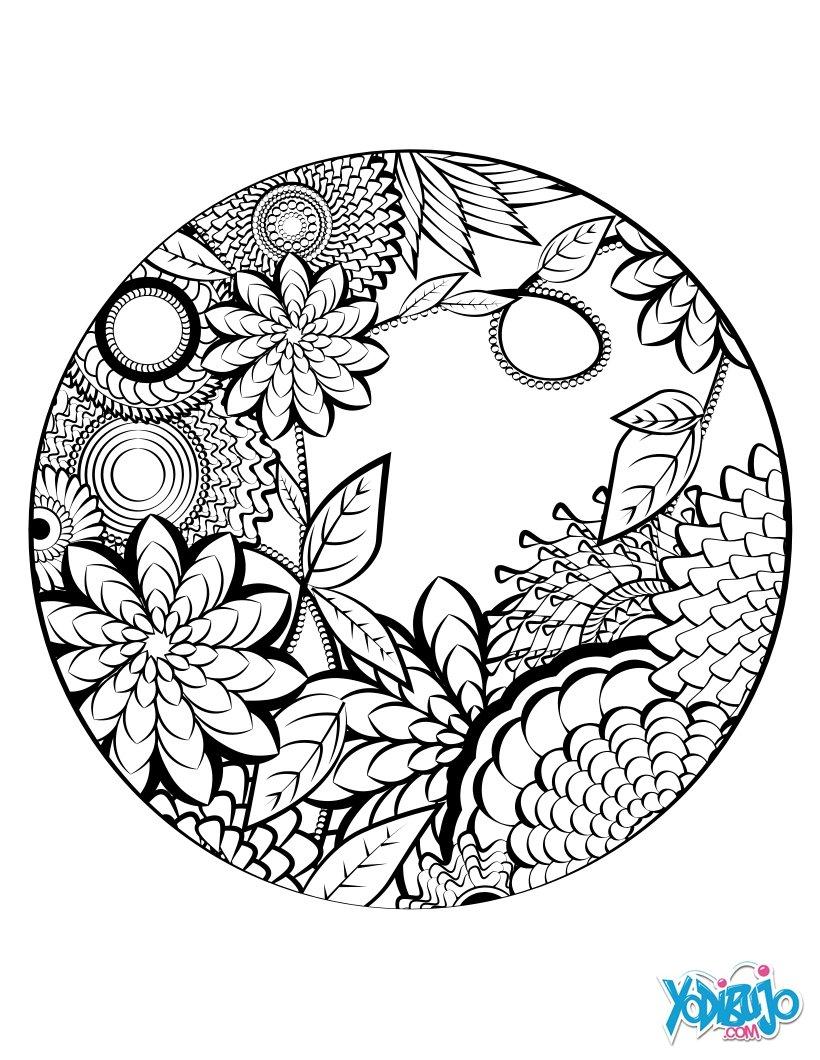 Dibujos para colorear arabescos - es.hellokids.com