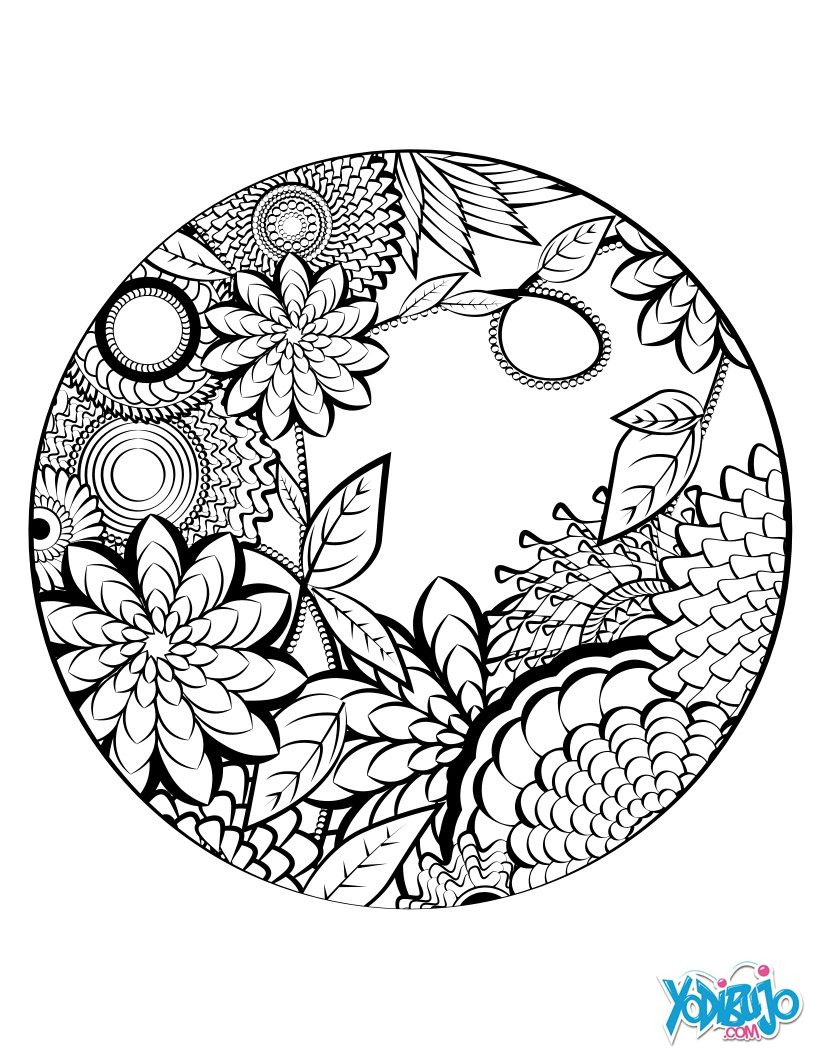 Dibujos para colorear combatir el estres - es.hellokids.com