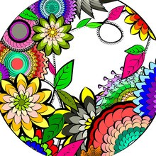 Dibujos antiestrés para colorear Mandalas