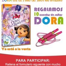 Concurso : DVD Dora, en el País de las Maravillas
