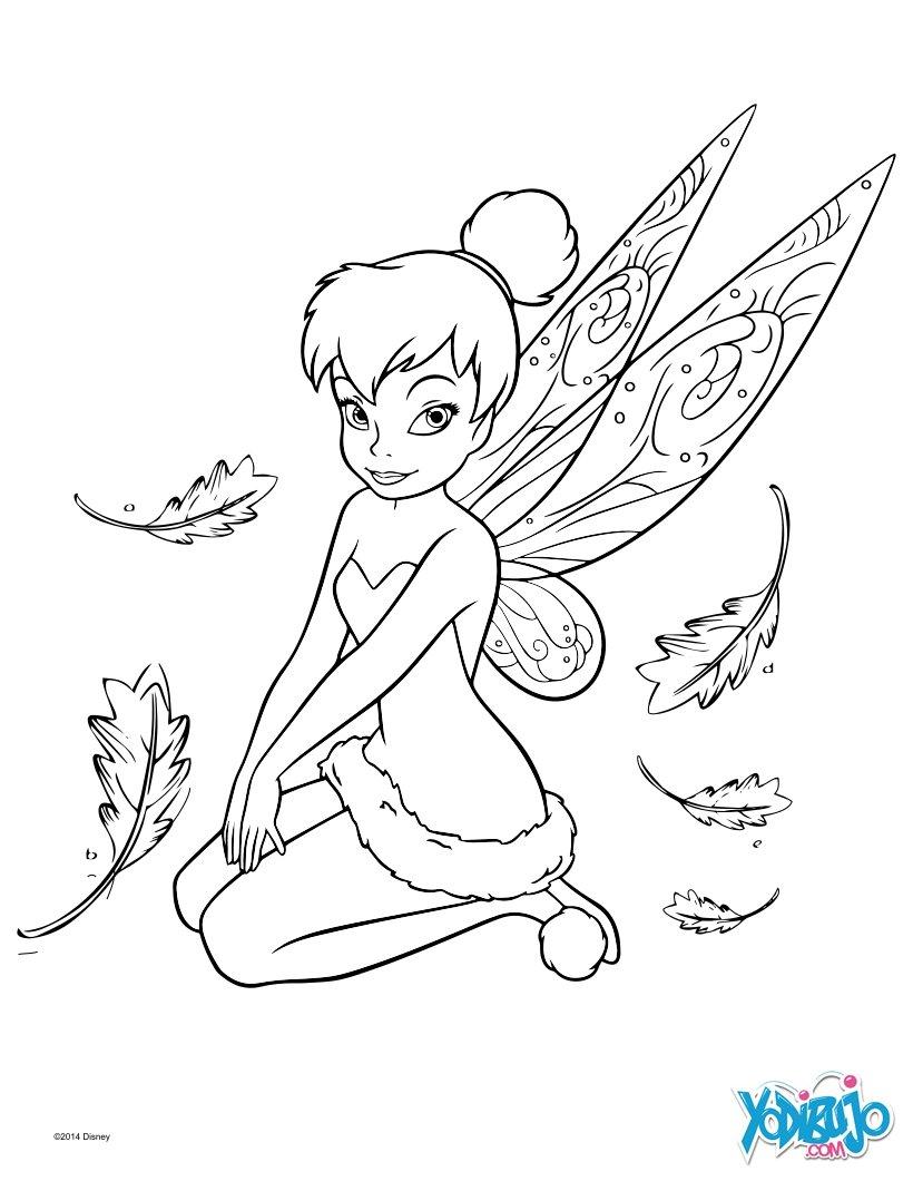 Dibujos para colorear campanilla - es.hellokids.com