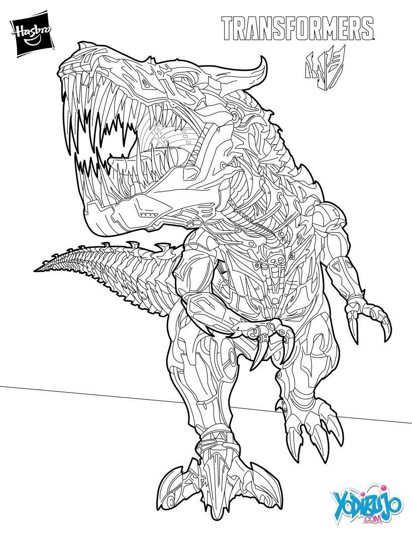 Dibujos Transformers para colorear - 12 dibujos gratis para imprimir ...