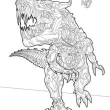 Dibujo para colorear : Grimlock