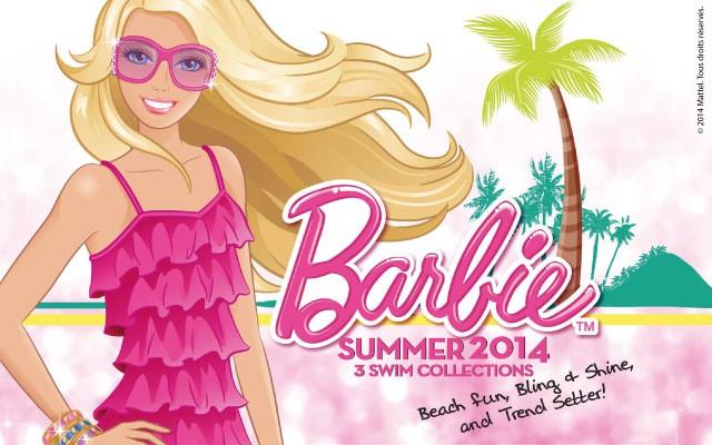 Dibujos Barbie 2014 para colorear
