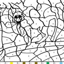 Juego infantil : Juego de pintar MONO