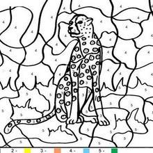 Juego infantil : Juego de pintar TIGRE