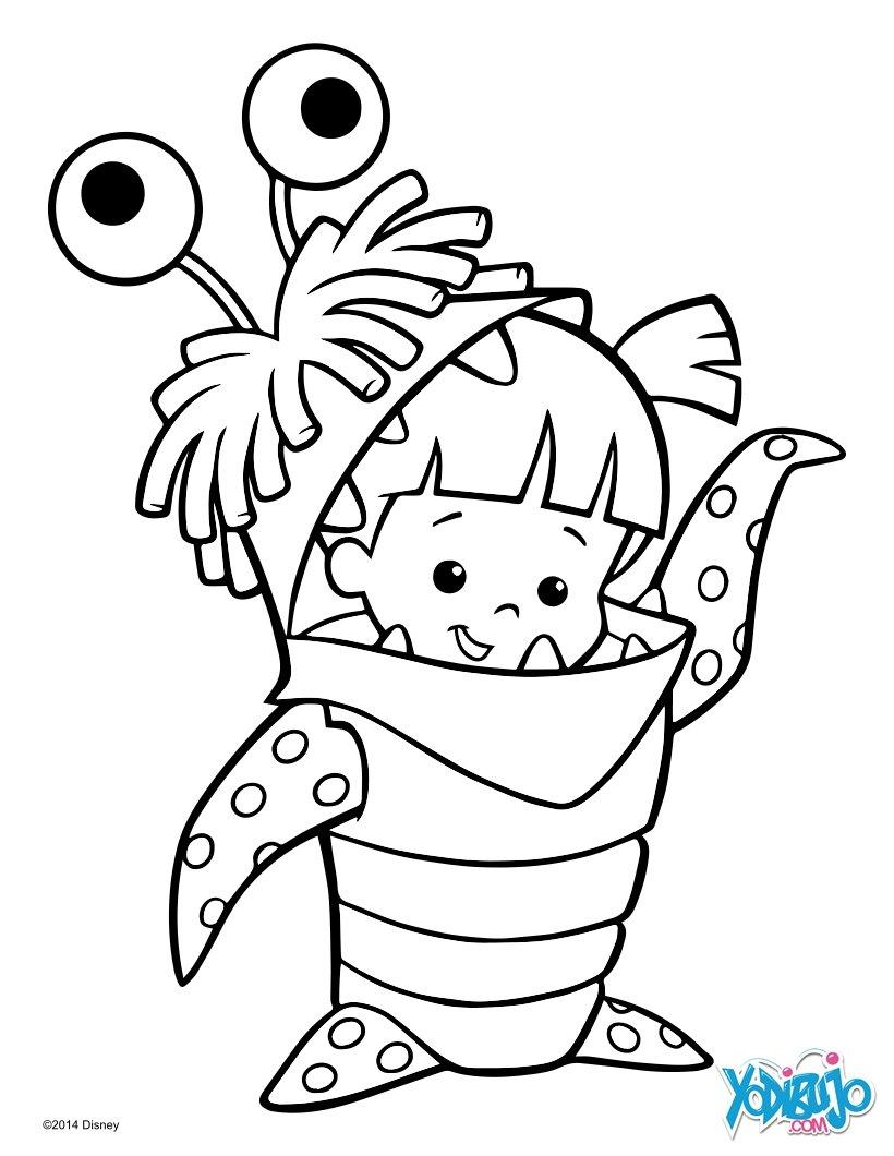 Dibujos para colorear disney y pixar - es.hellokids.com