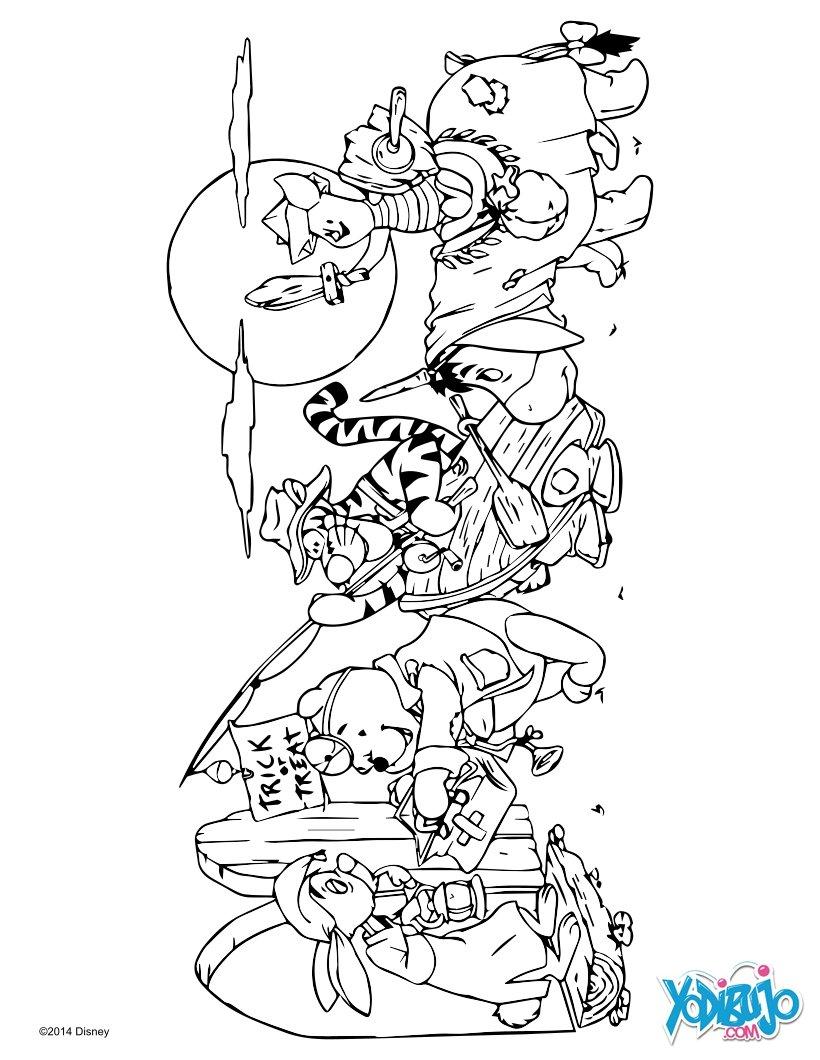Dibujos para colorear minnie et mickey à imprimer - es.hellokids.com