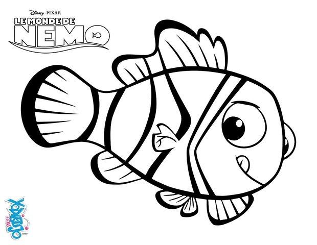Dibujos para colorear buscando a nemo - es.hellokids.com