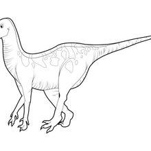 Dibujo para colorear : Grande Iguanodón