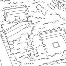 Dibujo para colorear : Zona Cero