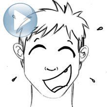 Truco para dibujar en vídeo : Dibujar una risa